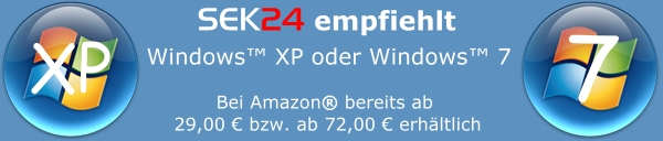 Windows 7 bei Amazon.de